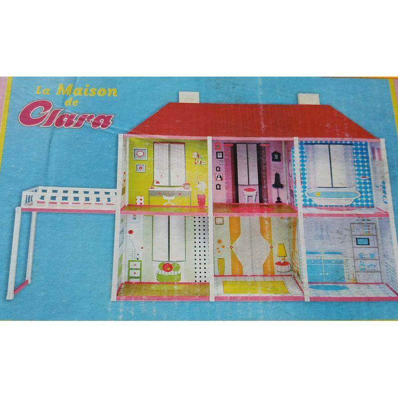 Maison De Poupee En Carton La Maison De Clara