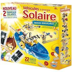 Kit de fabrication de véhicules solaires : 22 modèles à assembler - buki