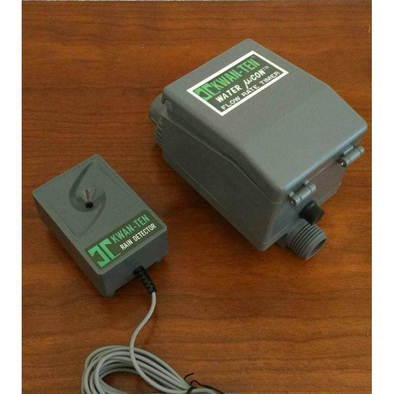 programmateur d'arrosage avec detecteur de pluie