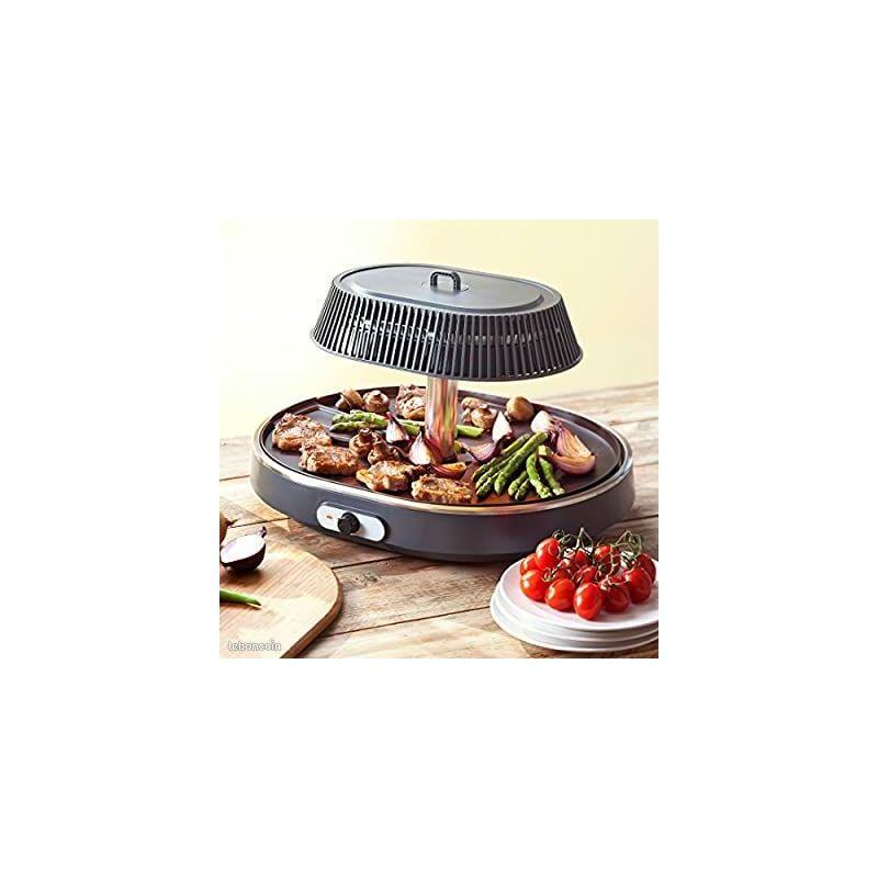 Plancha grill / salamandre de table, sans fumée, sans mauvaise odeur