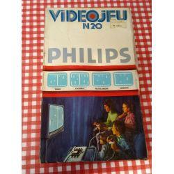 Console de jeux Rétro vintage philips N20 - Pong