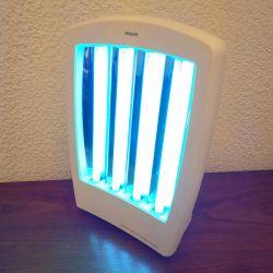 Solarium Facial Philips 60 watts - 4 tubes UV (pour visage et décolleté)