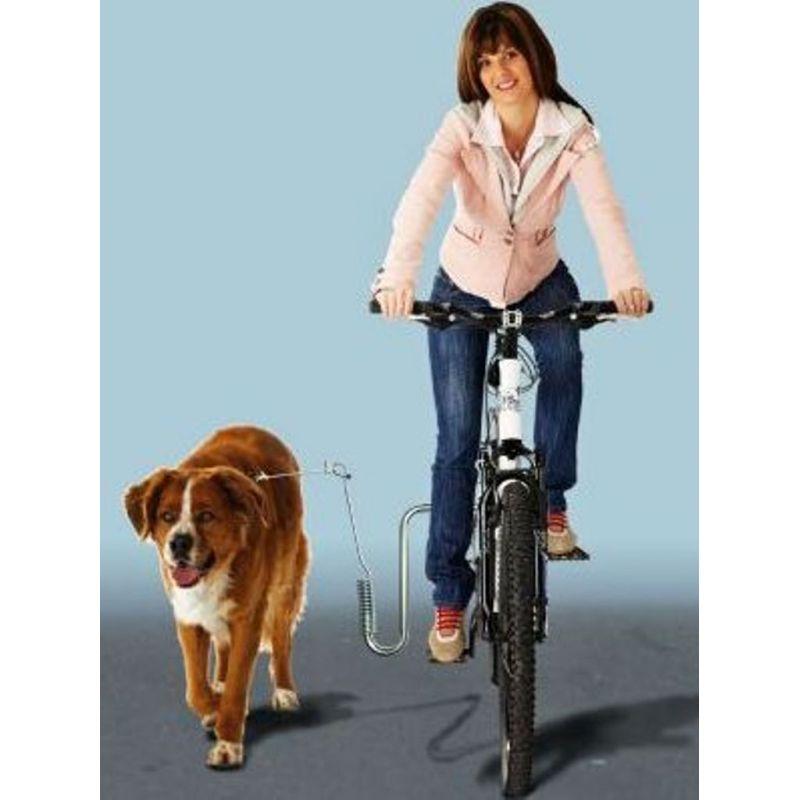 Support métallique pour faire du vélo avec votre chien (marque kleinmetall)