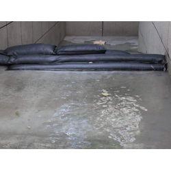 Sac anti-inondation 22 x 152 cm (lot de 2)  protegez cave, garage de la montée des eaux