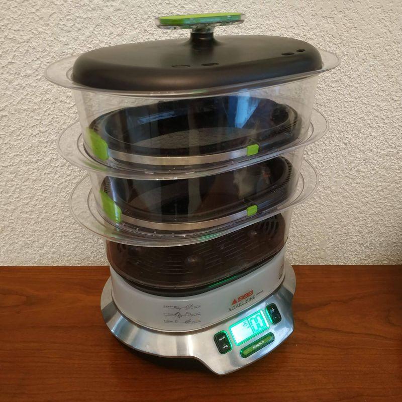 Cuiseur vapeur seb vitacuisine compact