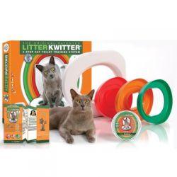 Séparez vous de la litiere de votre chat avec litter kwitter