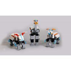 Robot motorisé éducatif et Connecté - 4 Servos Moteurs - 253 Pièces