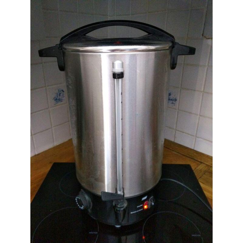 Cafetiere inox 10 litres vendue sans filtre - tellier N5010