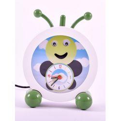 horloge enfant avec indicateur de reveil : la chenille
