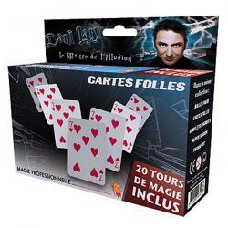 Tour de magie - cartes folles - Dany lary