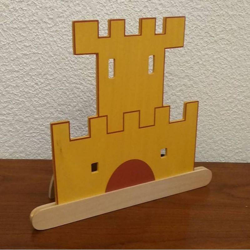 lampe de chevet pour enfant : le chateau fort