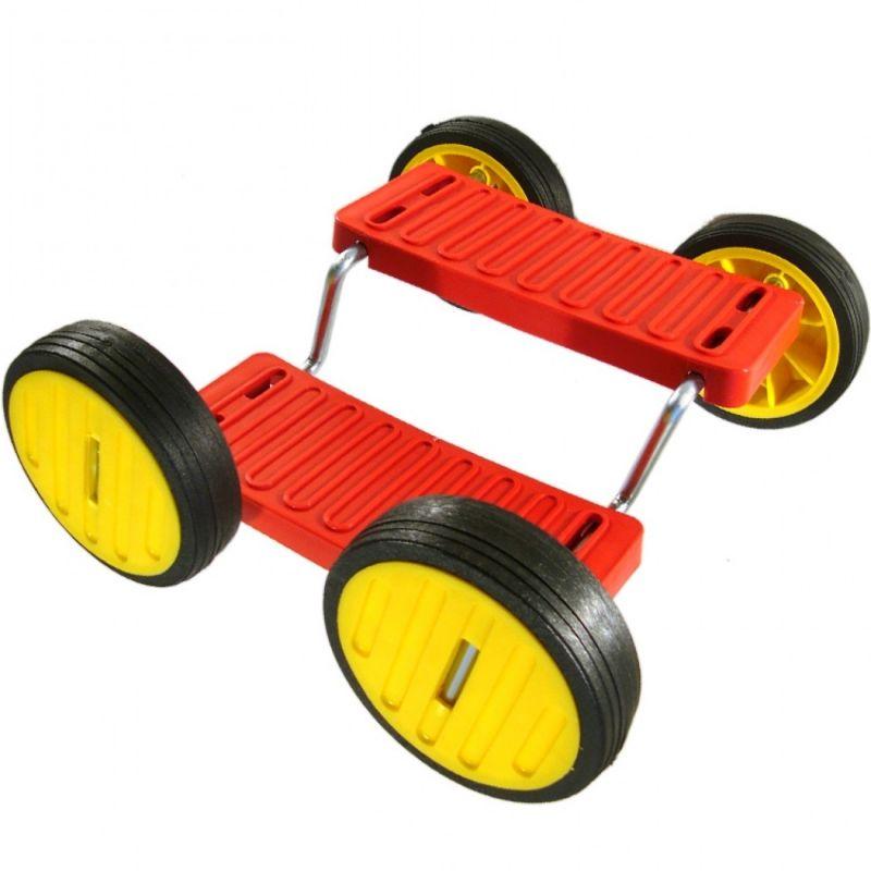 Accrobatique a 4 roues