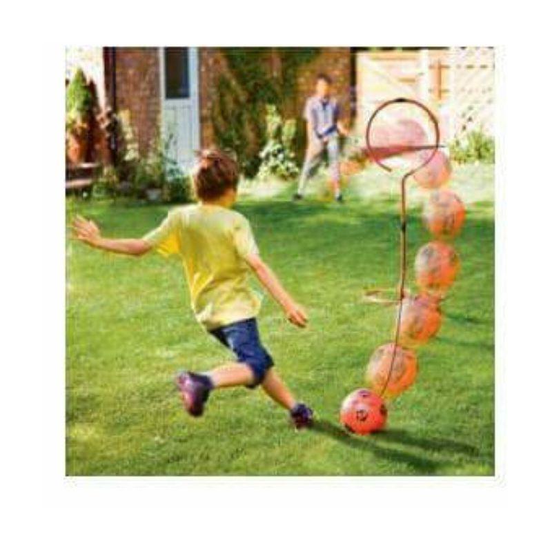 Tir au but (jeu d'entrainement de foot seul ou a 2)