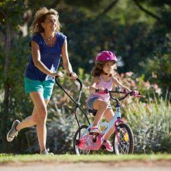 Barre pour apprendre à garder l'équilibre sur un vélo pour btwin