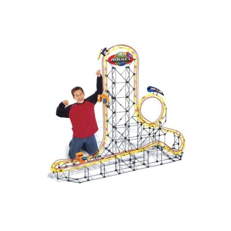 02- Roller coaster - knex