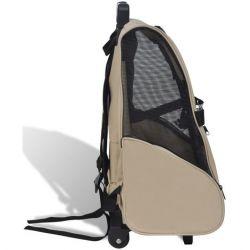 sac de transport pour petit chien ou chat / trolley