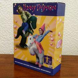Déguisement / Costume gonflable pour enfant : la licorne