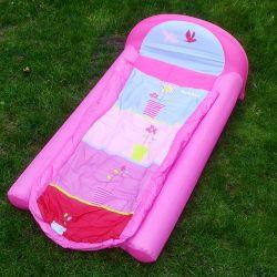 Lit de voyage d'enfant rose : le ready bed