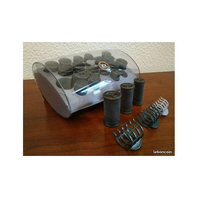 Bigoudis chauffants ceramiques ioniques X2 - Remington