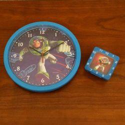 Horloge avec reveil buzz l'eclair - toys story