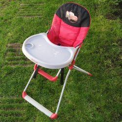 Chaise haute pliante cars