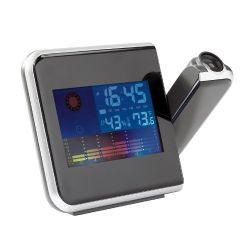 Station météo avec projection de l'heure - clipsonic