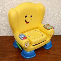 Chaise musicale fisher price (jaune)