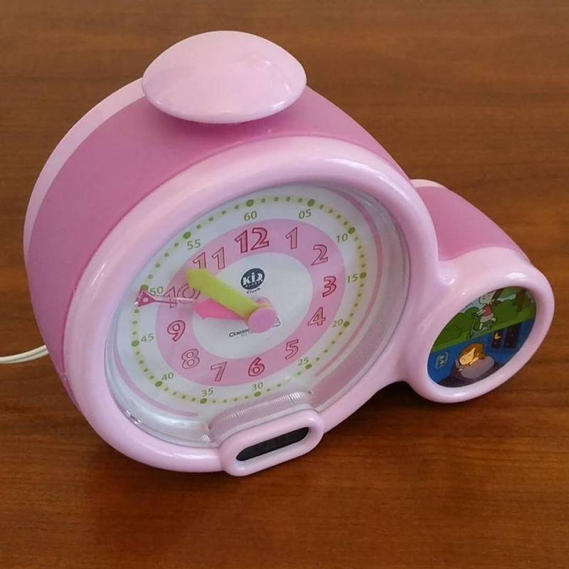 Mon premier réveil Kid Sleep Clock - rose