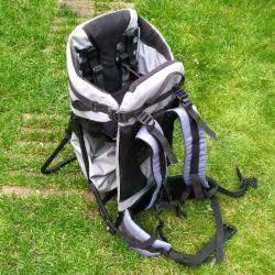 Porte bébé dorsal baby carier