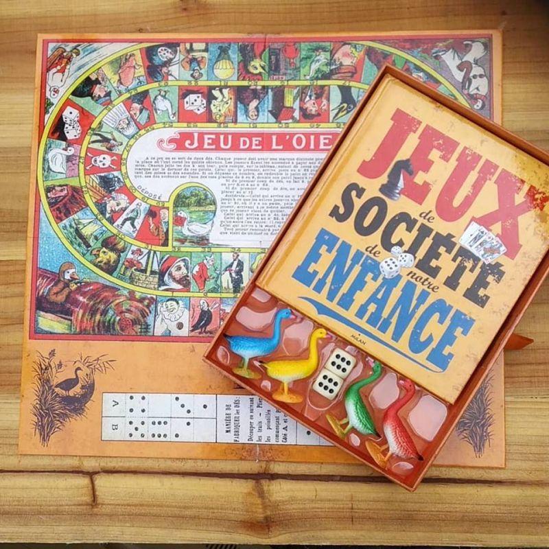 Coffret Livre Les Jeux De Societe De Notre Enfance Aux Editions Milan