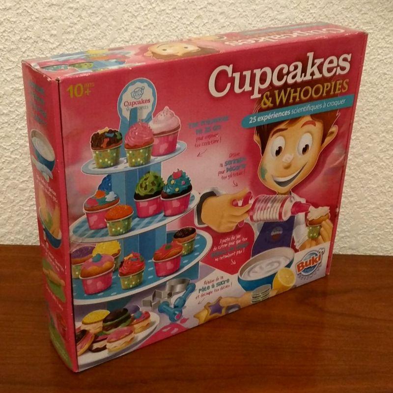Jeu pour apprendre à creer des cupcakes - buki