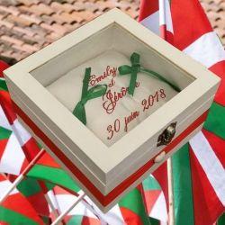 porte-alliances : le basque (peut etre fait en toute couleur)