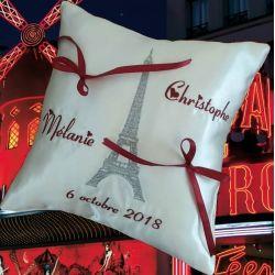 porte-alliances : la vie parisienne (tour eiffel)