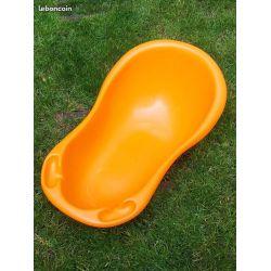 Baignoire plastique  orange SULO année 70 -   Luigi Colani