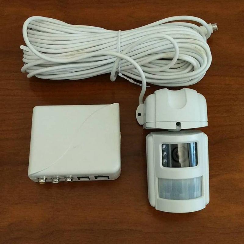 Système de vidéo surveillance filaire en N/B - eden C702