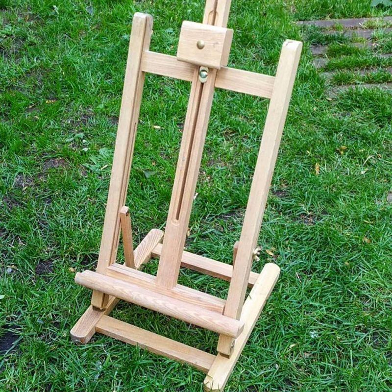 Mini Chevalet de table en bois avec sabot supérieur positionnable