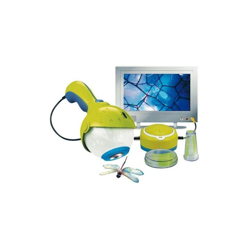 Microscope electronique qui se branche directement sur TV - lansay