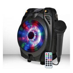 Haut parleur amplifié koolstar avec lecteur SD/card/USB/Radio/bluetooth/entrée aux/entrée micro