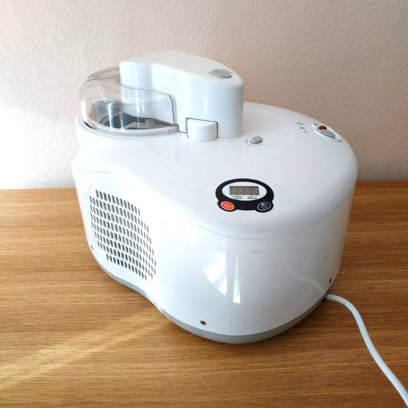 Sorbetiere avec compresseur - machine à glace DOMO
