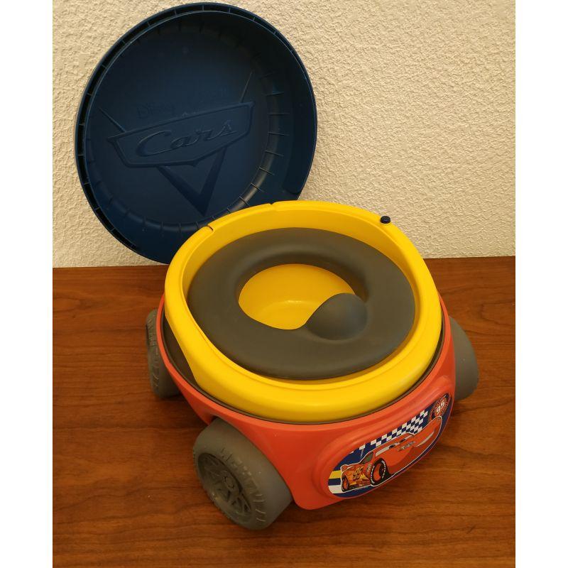 Pot pour bébé de toilette sonore avec bruitages - cars